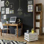 Rustikt bolig interiør for få penge